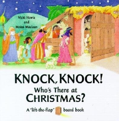 Knock, Knock!  Who'S There At Christmas? (Board Book)