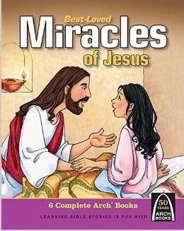 Best Loved Miracles Of Jesus (Hard Cover)