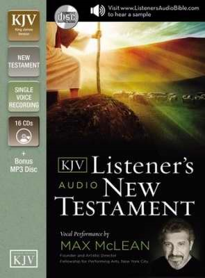 The KJV Listener's Audio New Testament (CD-Audio)