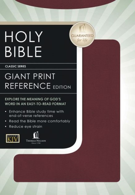 KJV Classic Personal Size Gp End-Of-Verse Reference Bible (Other Book Format)