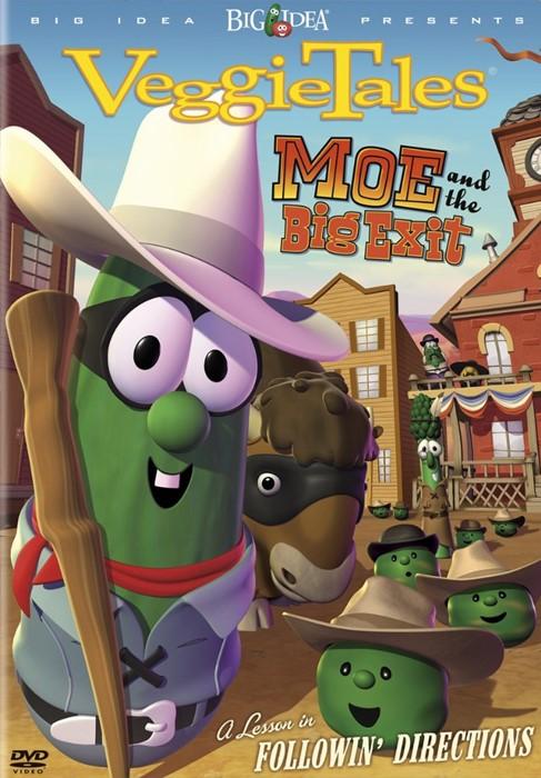 Veggie Tales: Moe & the Big Exit DVD (DVD)