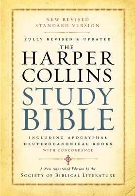 NRSV HarperCollins Study (Paperback)