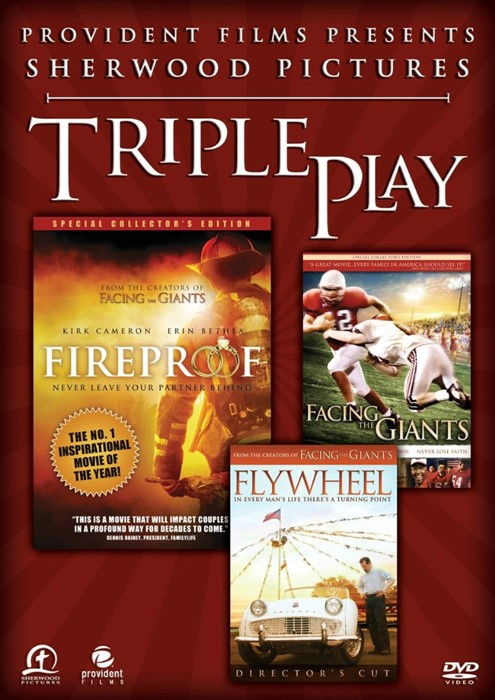 DVD Sherwood Triple Pack (Facing Giants/Fireproof/Flywheel) (DVD)