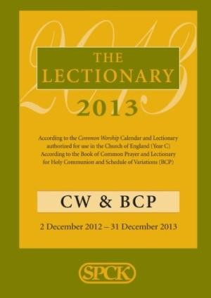 The Lectionary 2013 (Paper Back)