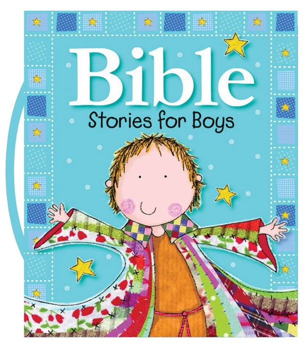 Bible Stories For Boys (Board Book)