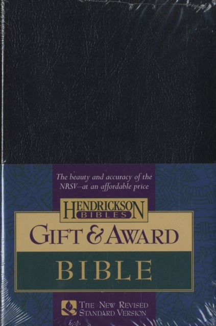 NRSV: Gift & Award Bible, Imitation Leather, Black