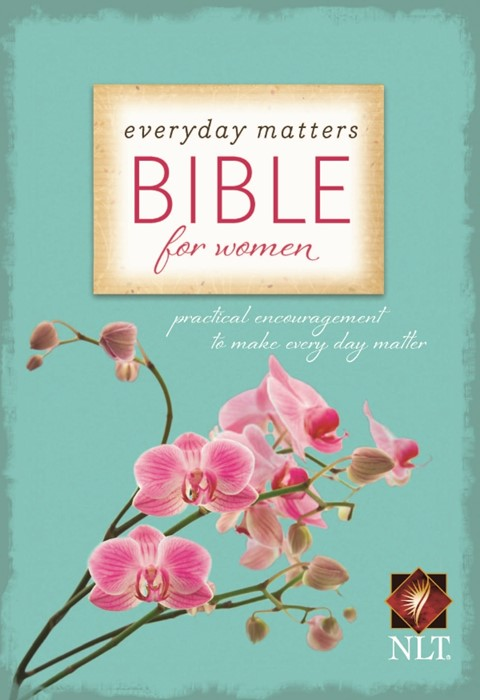 NLT Everyday Matters Bible For Women (Hard Cover)