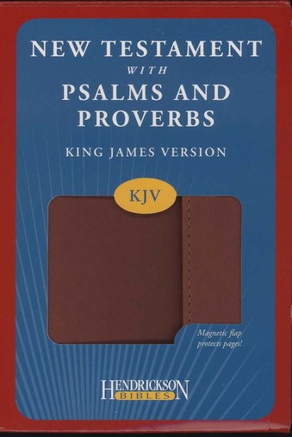 KJV New Testament with Psalms & Proverbs Magnetic Flap (Imitation Leather)
