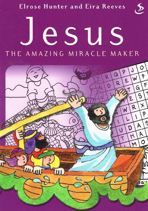 Puzzle Book Jesus The Amazing Miracle Maker (Paper Back)