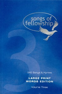 Songs of Fellowship Large Print Book 3 (Hard Cover)