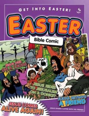 Get Into Easter Bible Comic (Paperback)