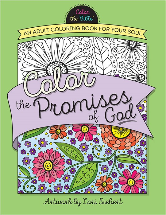 Color the Promises of God (Paperback)