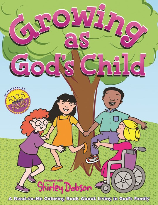 Growing as God's Child Colouring Book (Paperback)