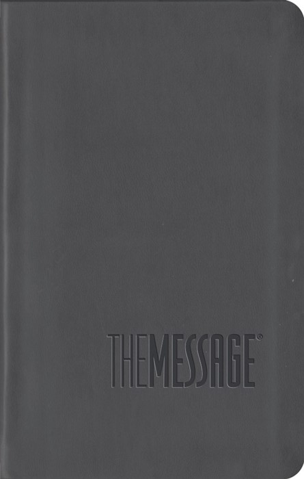 Message Compact Bible, Grey (ITPE)