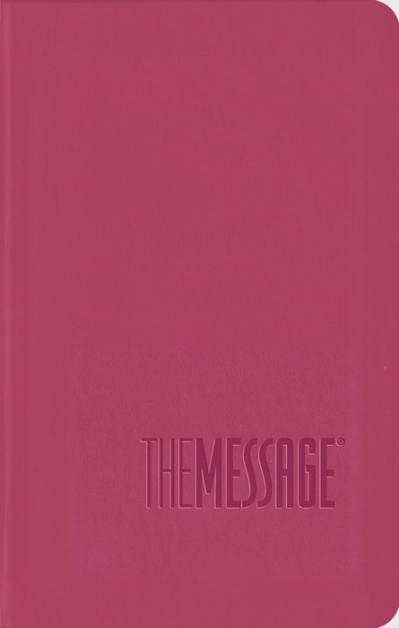 Message Bible, Compact, Imitation Leather, Pink (ITPE)