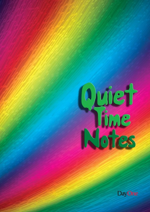 Quiet Time Notes: Rainbow (Spiral Bound)