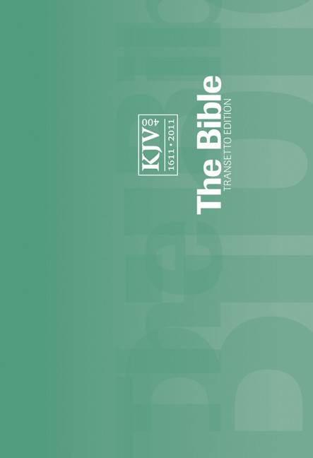 KJV Transetto Text Edition Green (Paperback)