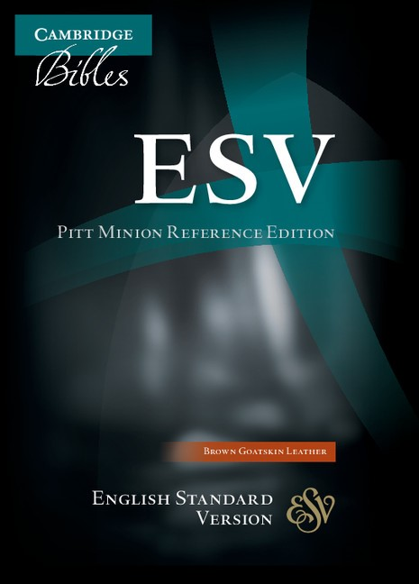 ESV Pitt Minion Reference Edition, Brown Goatskin Leather (Leather Binding)