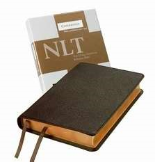 NLT Pitt Minion Reference Edition Nl446:Xr Brown Goatskin Le (Leather Binding)