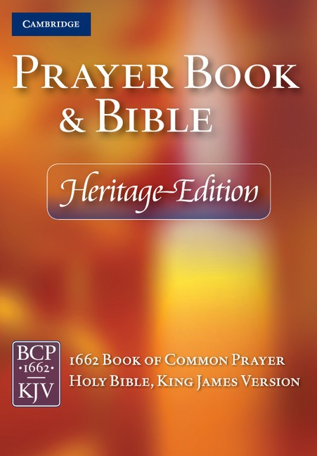 Heritage Edition Prayer Book And Bible, Black (Leather Binding)