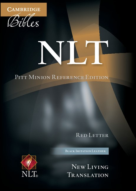 NLT Pitt Minion Reference Bible, Red Letter, Black Imitation (Imitation Leather)