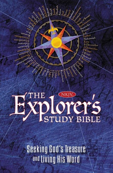 NKJV Explorer's Study Bible (Hard Cover)