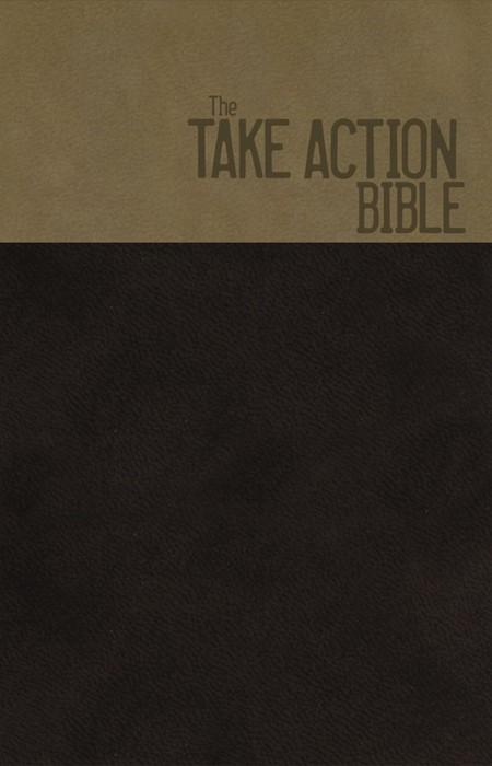 NKJV Take Action Bible, Ls/Br/Cop