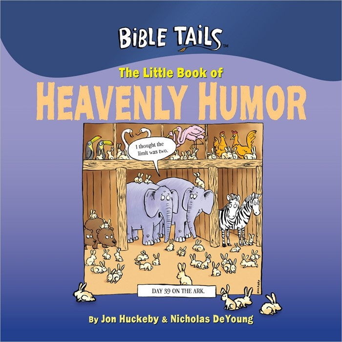 The Little Book Of Heavenly Humor (Hard Cover)