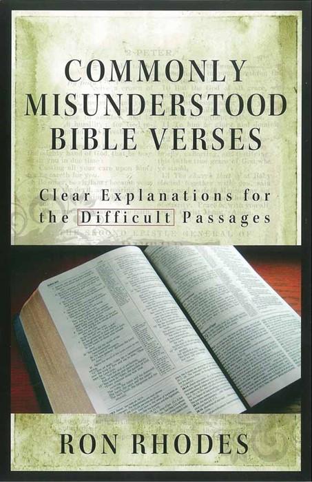 Commonly Misunderstood Bible Verses (Paperback)