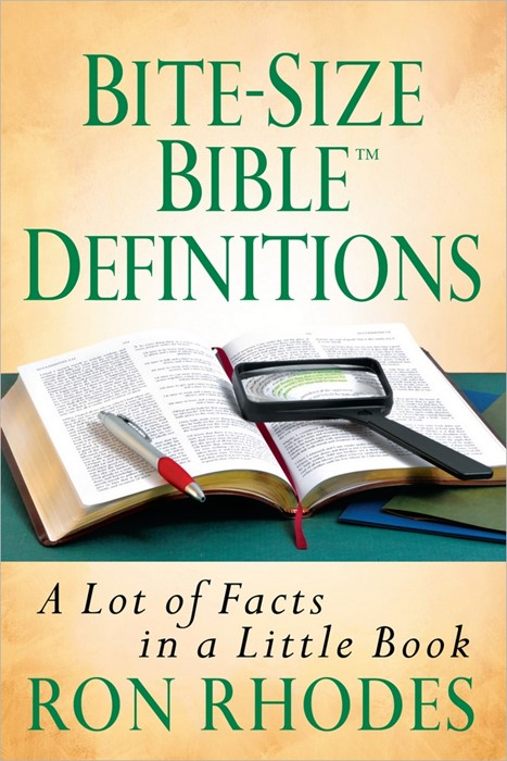 Bite Size Bible Definitions (Paper Back)