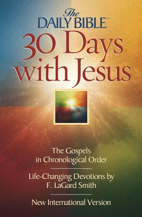 30 Days With Jesus (Paperback)