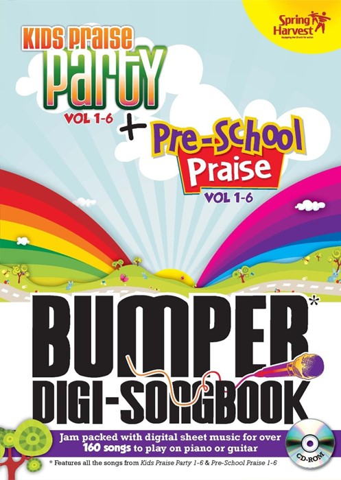 Kids Praise Party Bumper Digi-Songbook (CD-Audio)