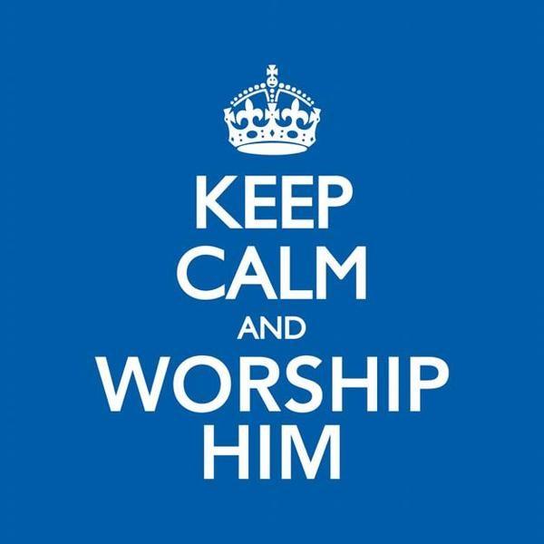 Keep Calm & Worship Him CD (CD-Audio)