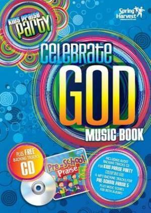 Celebrate God Music Book [Kids] (Paperback)