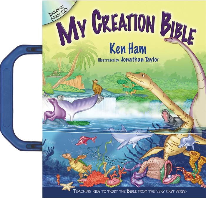 My Creation Bible (Includes Music CD) (Hard Cover w/CD)