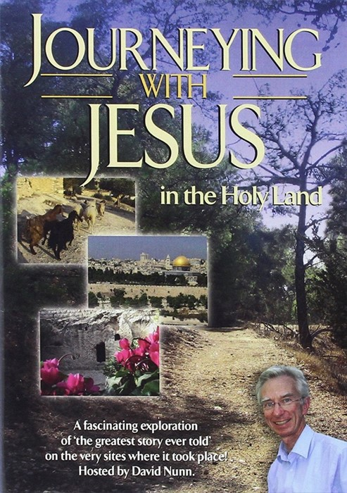 Journeying With Jesus In The Holy Land DVD (DVD)
