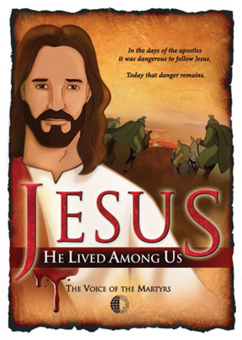 Jesus He Lived Among Us DVD (DVD)