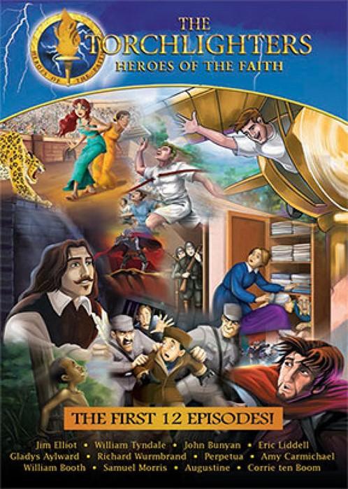 Torchlighters First 12 Episodes DVD (DVD)