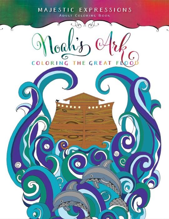 Noah's Ark Inspirational Colouring Book (Paperback)