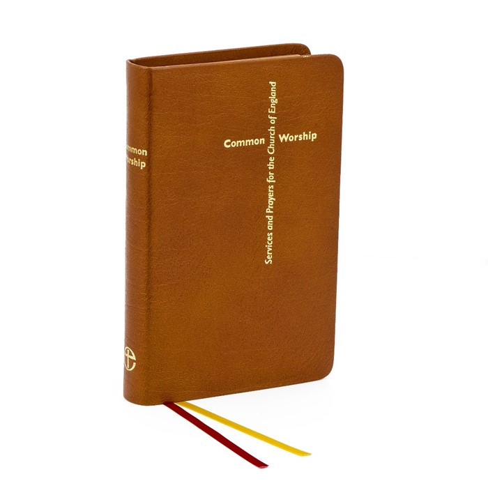 Common Worship, Calfskin Leather, Tan (Leather Binding)
