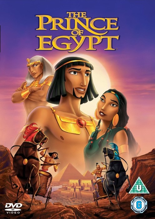 The Prince Of Egypt DVD (DVD)