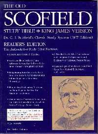 KJV Old Scofield Study Bible, Standard Edition, Burgundy (Bonded Leather)
