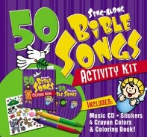 50 Sing-Along Bible Songs Activity Kit (Mixed Media Product)