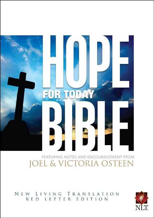 NLT Hope For Today Bible (Hard Cover)