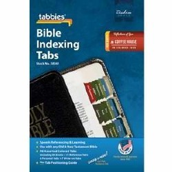 Bible Index Tabs Coffee House Colour (Tabbies)
