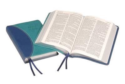 KJV Windsor Text Bible, Blue (Imitation Leather)