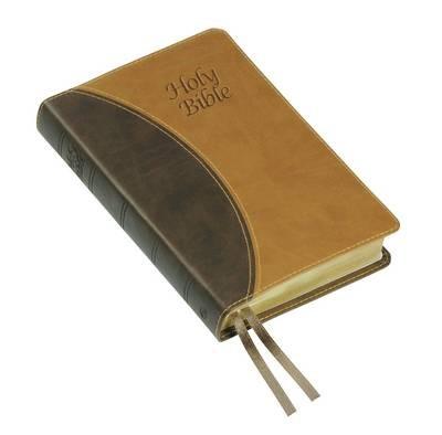 KJV Windsor Text Bible, Brown (Imitation Leather)