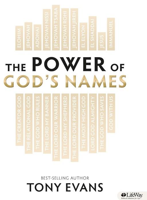 Power Of God's Names Members Book (Paperback)