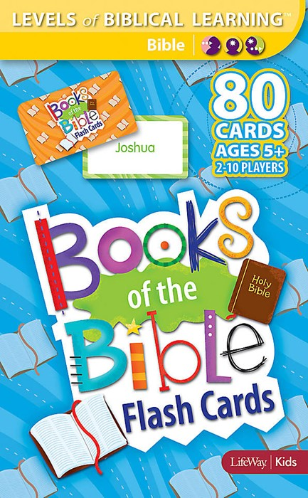 Books Of The Bible Flash Cards (Cards)
