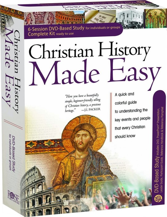 Christian History Made Easy Dvd Complete Kit (Kit)